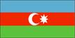 Azerbaijan Flag --- 3/03