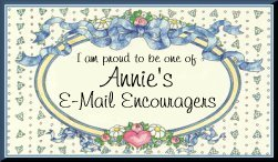 "Click here to go to the ""Annie's Email Encourager's Page"""